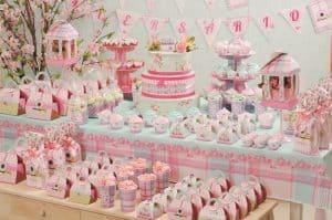 20 ideias para Festa Jardim Encantado, Tons pastéis