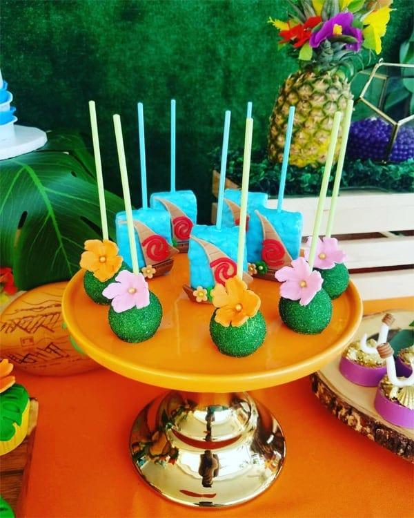 20 ideias para decoração de festa tema Moana