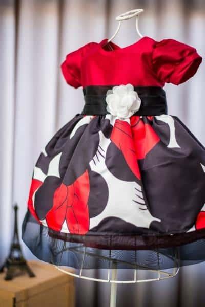 Vestido da Minnie