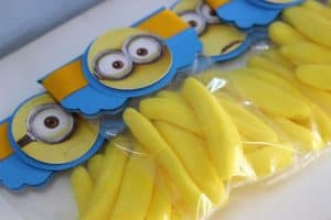 lembrancinhas dos Minions, Balinhas de banana