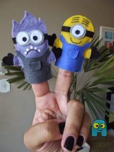 lembrancinhas dos Minions, Fantoches de dedo
