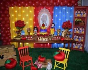 decoração,branca,de,neve,cortina,luzes