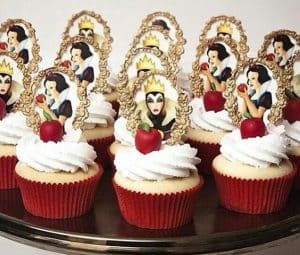 decoração,branca,de,neve,cupcakes,decorados