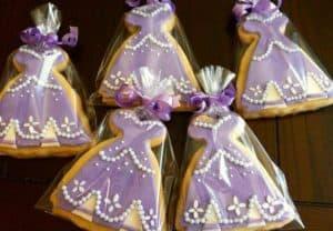 lembrancinhas Princesa Sofia, Biscoitos