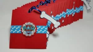 convite,patrulha,canina,envelope,personalizado