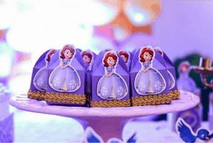 convite,princesa,sofia,caixinha,surpresa