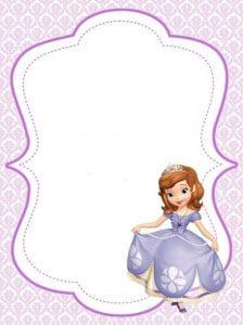 convite,princesa,sofia,cartão,virtual