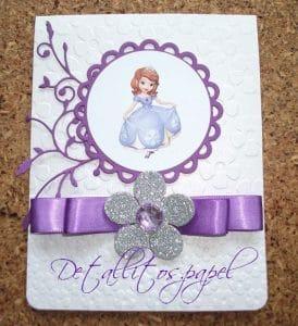 Convite da Princesa Sofia, Relevo, Fita