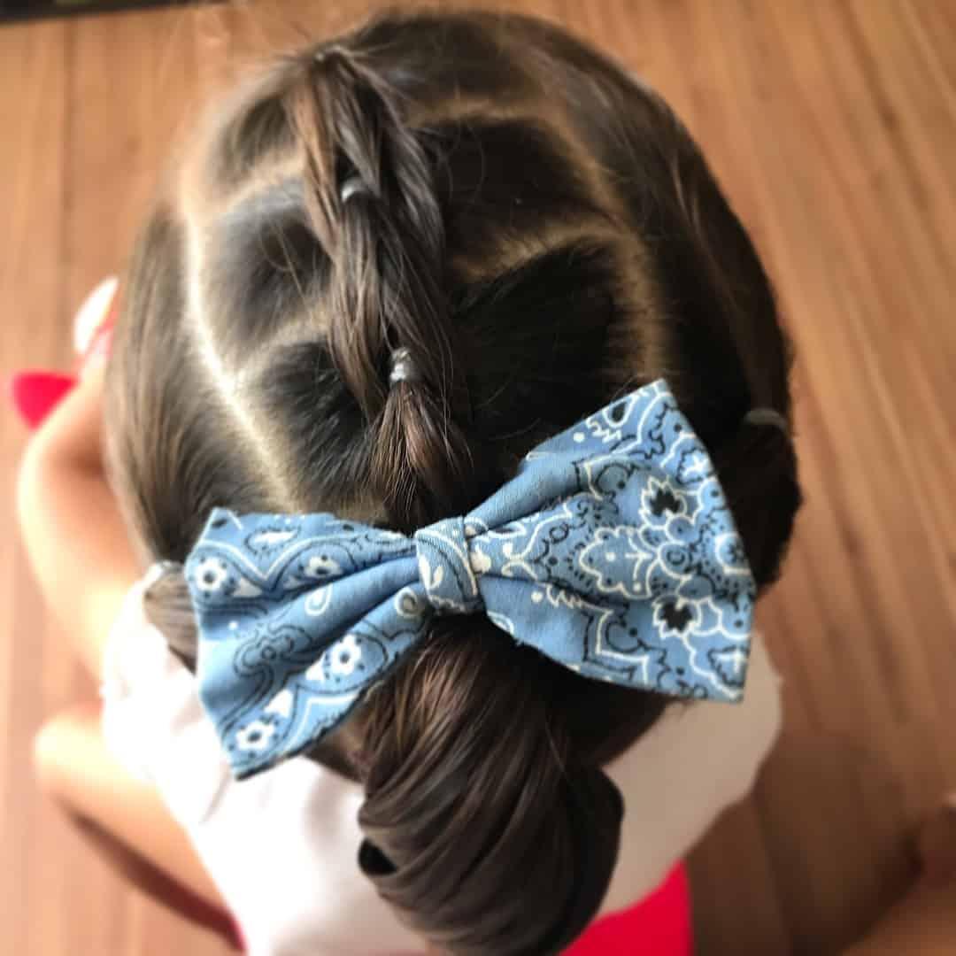 ideias de penteados para cabelos de meninas