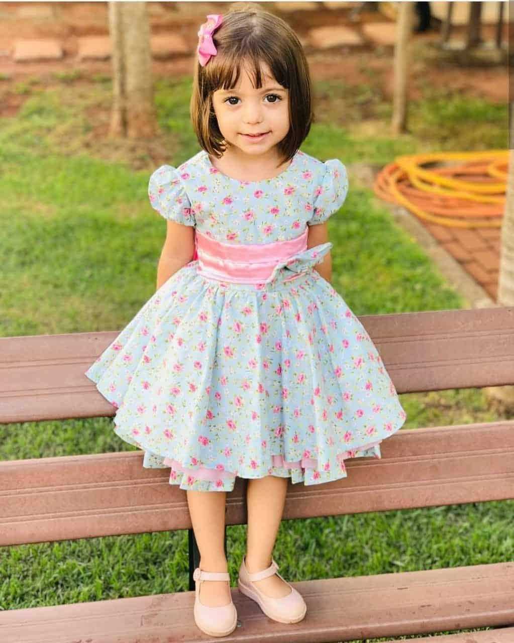 Vestido de festa infantil 4 anos