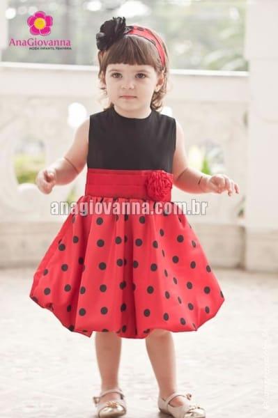 Vestido da Joaninha Baby